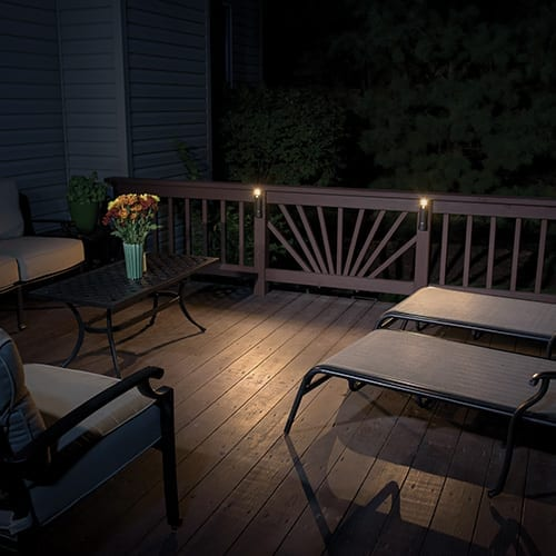 Compact Path Light - Pack of 2 - TC562 displayed outdoors