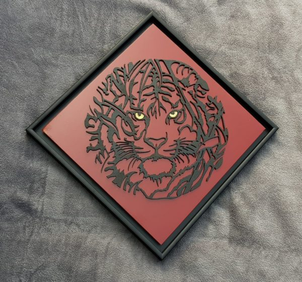 tigers head floater frame